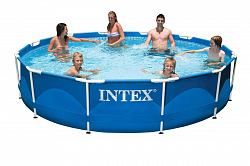 Каркасный бассейн Intex Metal Frame 28210NP/56994 366х76 см